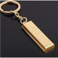 Schlüsselanhänger Produkte auf dem Markt BRICS Gold Bar Kleinanhänger