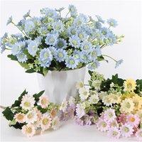 Роскошный большой букет из пластиковых искусственных цветов Флорес для украшения свадебных украшений MaRiage Babyshower Белый поддельный цветок