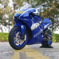 112 Yamaha MOTO GP 46 Alloy Diecast Motorcycle Racing Sound and light Model Sports Toy For Children Gifts Collection Model
