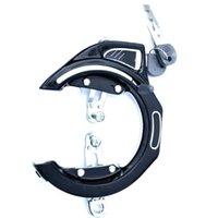 Bike Locks Инструмент Подкова Форма Практический прочный Прочный 2 ключей ржавели Аксессуары Высокая интенсивность Безопасность Блокировка велосипеда Противоугота