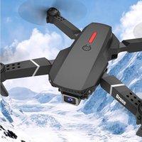 Drohnen E88 PRO DRONE 4K HD Dual Camera Aerial POGRY FOLDING Professionelle Quadcopter Fernbedienung Spielzeug