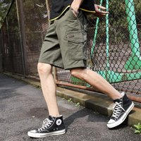 Men's Shorts MRMT 2021 Brand Summer Five-point Pants Thin Loose Casual Multi-bag Short For Male Beach