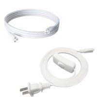(Anahtar) T5 T8 Tüp Bağlayıcı Kablo Kordon Fiş Hattı LED Floresan Büyümek LED Kablolalı Tüp Konnektör Kablosu