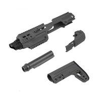 G17 나일론 액세서리 용 Caa Airsoft Roni Toys Pistol G17 Carbine Conversion Kit