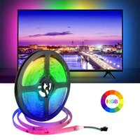 Strips 12V RGB LED Strip Light Waterproof WS2811 Tape For PC TV Holiday Kitchen Decoration Table Lighting