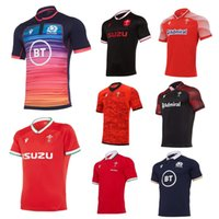 2020 2021 Wales Scotland Rugby Jersey 20 21 Home Away Welsh Pathway Tamanho S-5XL Scottish Camiseta Maillot Camiseta Maglia