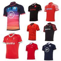 2020 2021 Galler İskoçya Rugby Jersey 20 21 Eve Dight Galce Yolu Boyutu S-5XL İskoç Gömlek Maillot Camiseta Maglia