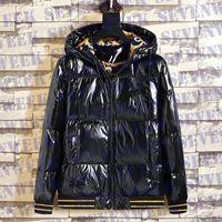 Дизайнеры мужские куртки с капюшоном Parkas зимнее теплое пальто пальто Windbreaker мода мужская молния куртка