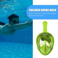 Underwater Full Face Snorkel Scuba Mask Anti Fog Diving Swim Respiratory Device For Swimming Spearfishing Dive Men Masks