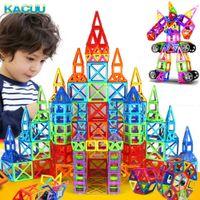 Kacuu Big Size Big Size Block Block Designer Set Modello Building Toy Plastic Building Building Blocks Toys per bambini Q0723