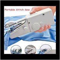 Tissu et Handy Handheld Electric Hine Mini Portable Home Couture Table rapide Table rapide Point simple Stitch Tool de bricolage CCA10905 VOQL RSJQW