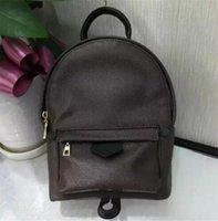 حقائب نسائية مصممين مصممين نسائية حقيبة الظهر مصغرة جلد طبيعي Paim Sprlngs حقيبة ضرورية ل أنيق Lade / Girl