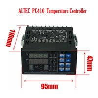Power Tool Sets ALTEC PC410 Digital Temperature Controller Panel With 232 K Type Thermocouple Industrial Version 1400 Centigrade