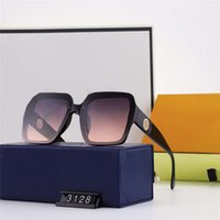 Sunglasses 21ss Designers Protect Eyes Anti- UV Large Frame U...