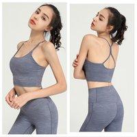 Lulu Mulheres OutfitsSports Bra Tanques Yoga Sportwear Tracksuit Ao Ar Livre Esporte Lu Casual Gym Push Up Bras Longa Womens Underwear Trabalho Treino