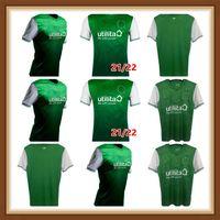 2021 2022 Jerseys de futebol Hibernian Home Homens Verdes Kit de futebol Camisetas Hanlon McGinn Doidge Newell Boyle Nisbet Stevenson Hallberg Jersey 21 22
