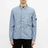 Sommerfrivole Herrenjacke Trend Schwarz Werkzeugmantel Casual Solid Hemd Revers Linse Europäische und amerikanische Simple Deewea