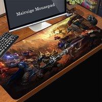 Mouse Pads & Wrist Rests MairuigeLOL Hero Pinnacle Battle Large Gaming Pad Black Tight Lock Rubber Printable Custom Picture Computer Keyboar