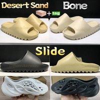 Mode Eté désert foncé sable slide plate-forme chaussures Pantoufles os résine terre brun blanc mousse runner triple noir Ararat total orange sandales