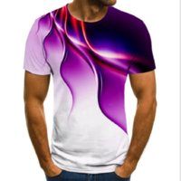 Herren Kurzarm 2021 Sommer T-Shirt Jugend Atmungsaktive T-Shirts Grafik Männer Flamme Druck T-shirt Lässig 3D Digitaldruck Tees Junge Mode Straße Tops