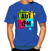 Men's T-Shirts Autism T-shirt Support The Cause Mens Kids Puzzle Grey T Shirt(1) Men Women Cartoon Casual Short