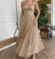 Evening Dress Pink Party Gown Dresses Women Elegant Night Navy Blue Muslim Wedding Midi Mermaid Maxi Maid Of Honor Luxury 2021 H0916