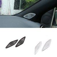 Aluminum Alloy Car Dashboard Speaker Net Cover Trim Stickers Fit For Mercedes Benz B Class W247 Auto Interior Accessories