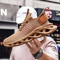 Männer Tennis Laufschuhe Sneakers Strick Plattform Blade Sport Training Schuhe Neue Männer Lässige Wanderschuhe Plus Größe 48