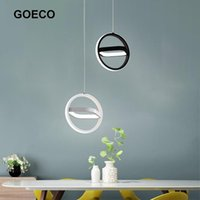 Modern LED Chandelier Pendant Lamp For Home Living Room Dining Bedroom Kitchen Cafe Round Square Hanging Light Fixture Lamps