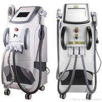 3in1 IPL آلة SHR E- ضوء RF ND YAG دائم Picosecond إزالة الشعر بالليزر وغسل الحاجب الوشم ريموفا صالون تجميل استخدام