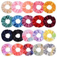 20 Colors Hair Scrunchies Velvet Elastic Hair Bands Scrunchy Ties Ropes Ponytail holder Scrunchie for Women Girls Hair Accessories