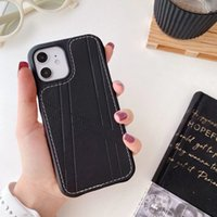 Designer leather cell phone cases for iPhone 7 8 7P 8P SE X XR XS XSmax 11 12 11Pro 12Pro 11Promax 12Promax 4 colors