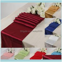Decorations Supplies , & Eventssatin Runner 30Cm*275Cm Table Centerpieces Wedding Supply Party Decor Decoration Cloths Tablecloth Holiday Ch