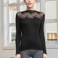 Women's Sweaters Women Sweater Pullover Basic Rib Knitted Natural Silk Cotton Tops Solid Essential Jumper Long Sleeve Fall Winter