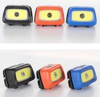MINI LED COB Headlamp Portable Vélo En extérieur Cyclisme Pêche Camping Phare d'urgence Phare Sports Tête de tête Lampe de poche Éclairage Éclairage