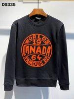 Phantomschildkröte Hoody New Herren Designer Hoodies Italien Mode Sweatshirts Herbstdruck DSQ Hoodie Männliche Top Qualität 100% Baumwolle Tops 2372
