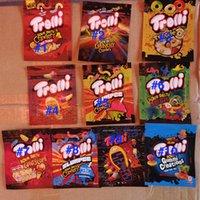 Stokta 32 Türleri Ekşi Şeker Sakızlı İpraklı Mylar Çanta Trolli Trrlli Errlli Yerler Gummies Ambalaj Torbaları Koku Koruma Açılıp Açılabilir Fermuar Kılıfı 600mg