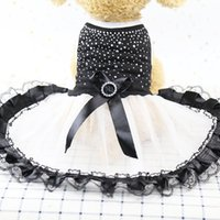 Dog Apparel Spring Pet Supplies Summer And Dresses Rhinestone Love Skirt Pets Clothing puppy Supplies Cute Casual Dogs Clothes