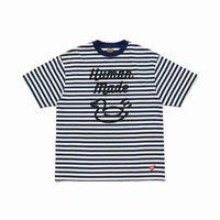 10Colors listrado camiseta de alta qualidade homens mulheres moda casual top tees