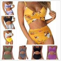 Women Bikini Two Piece Set Tracksuits Summer Womens Swimwear Fashion Skinny Sexy Swimsuit Bathing Suit Beachwear Comfortable S-XXL