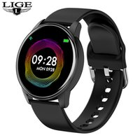 LIGE BW0131 Smart Watch IOS Android Men Women Sport Watch Pedometer Fitness Bracelet Watches for Phone