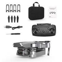E68 4K HD Caméra WIFI FPV Mini Jouet de drone débutant, Simulateurs, Vol de piste, Vitesse réglable, Hoison d'altitude, Gestes Photo Quadcopteur, pour