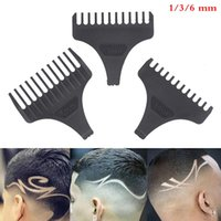 Hair Brushes 1Pcs Universal Clipper Limit Combs Guide Guard Attachment Size Barber Replacement For Electric Shaver