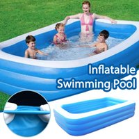 Large Children Inflatable Pool Baby Bath Tub Swimming For Ki...