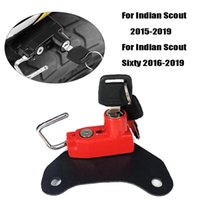 Theft Protection Motorcycle Helmet Lock Side Anti-theft Security With 2 Keys Fit For Scout  Scout Sixty 2021-2021 2021