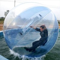Thick PVC Water Walking Ball Inflatable Bouncers Transparent Aqua Zorbing Sphere with German Tizip Zip Diameter 5ft 7ft 8ft 10ft Free Delivery