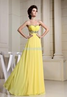 Bridesmaid Dress Real Po Yellow Chiffon 2021 Vestido De Festa Formal Gown Long Design Brides Custom Prom Dresses