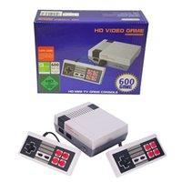 HDMI Game Console HD Video Handheld Mini classico TV classico per giochi 600 NES Controller console incorporato Joypad con scatola al minuto