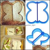 خبز المطبخ، شريط الطعام الرئيسية gardenkids diy الغداء ساندويتش نخب العفن كعكة الخبز البسكويت القاطع mod الخبز تعديل انخفاض التسليم 2021 7o