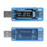 미니 휴대용 0.91inch LCD 스크린 USB 충전기 용량 전원 전류 전압 탐지기 테스터 멀티 미터 미터